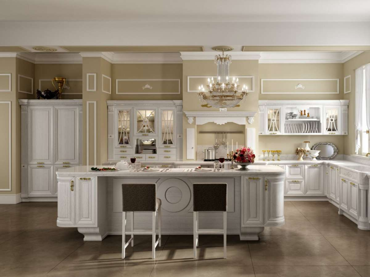Beautiful Cucina Muratura Bianca Contemporary - Design & Ideas ...