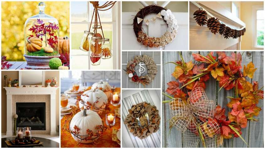 Decorare casa in autunno: tante idee creative